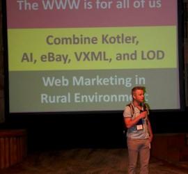 Chris van Aart at ICTD2013