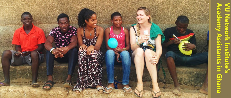 Network Institute's Academy Assitants in Northern Ghana
